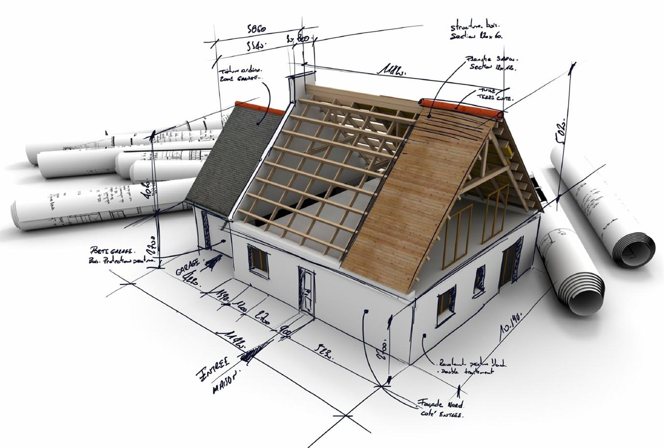 The stages of building a new home using a building broker for Stages in house construction